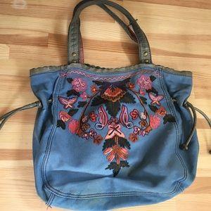 Lucky Brand Embroidered Bag